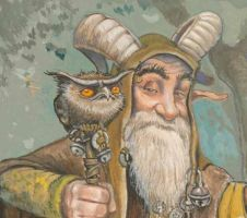 Old Magican Pan by P0UL