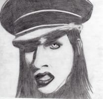 Marilyn Manson by WearingAubergine