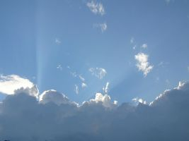 From behind the cloud by Jellings