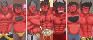 [DEMONS] SEVEN ARCDEMONS by rhimes1999