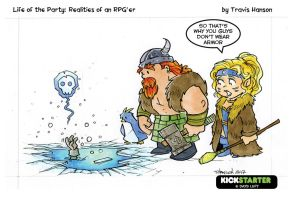 armor and ice - rpg comic by travisJhanson