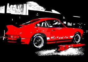 Porsche 911 Carrera 2.7 RS by Arek-OGF