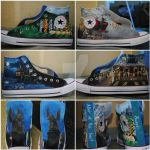 Harry Potter shoes by neverinmyfoot