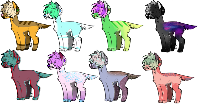 OTA Dog adopts(6/8 Open) by fluff-and-jellyadopt