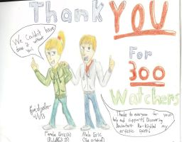 Thanks for 300 Watchers! by EvilWheatley