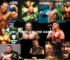 Triple h the game by MysterioKittyArtist