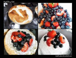 Angel Berry Cake by niladnama