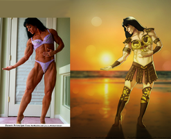 Dawn Principe-Moser As Xena By Ulics by zenx007