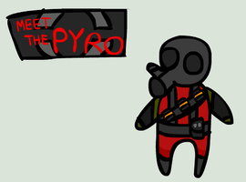 Tf2 Pyro Chibi Red by BentleyNew