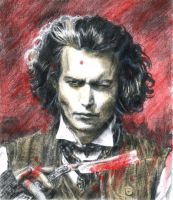 Sweeney Todd, the demon barber by Kiraya00
