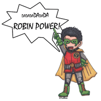 Batman: Robin Power by Labbess