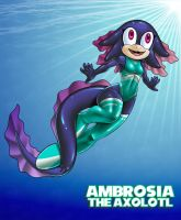 GJ Ambrosia-The Axolotl by ginsujustice