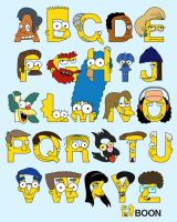 S is for Simpsons Alphabet by mbaboon