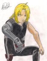 Edward Elric by Halle4