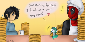 New Employee by SpectralPony