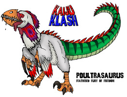 Poultrasaurus: Feathered Fury of Freedom by FiftyFootWhatever