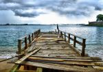 Old Pier by E-Davila-Photography