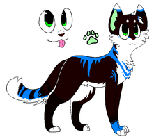 Andrews Cat Oc by PI0SON