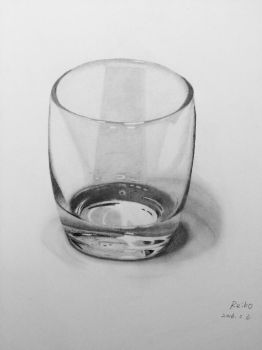 Glass On Table by JamesF63