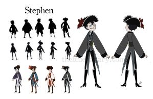 Stephen Character Sheet by ambisweetiepie