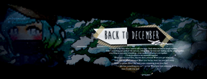 I go back to December all the time.. by Halyius