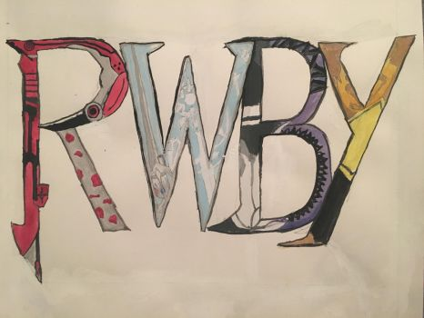 RWBY Logo by cottagecheese12