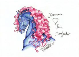 dreamariagiftness by moonfeather