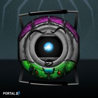 Portal2 Core as Buzz Lightyear by nlcast