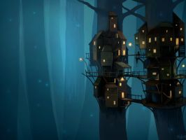 Tree Town by JOPPETTO