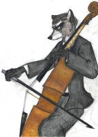 Cello 'Coon by mitya