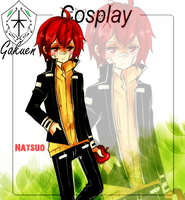 KG Cosplay: Natsuo X Enma by Mellobo