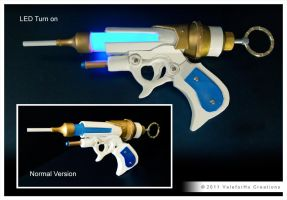 Blue Rose Liquid Freezing Gun by ValeforHo