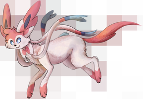Sylveon by Clocktier