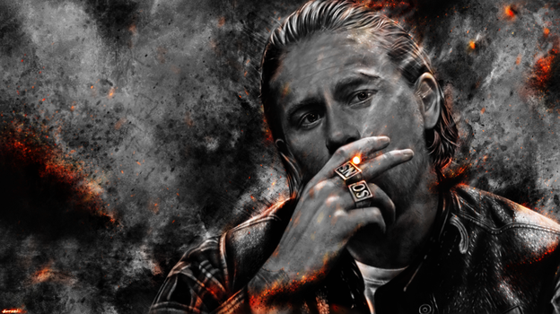Sons of Anarchy - Jax Teller by p1xer
