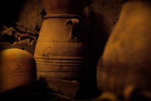 Old Greek Jars by almacheras