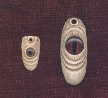 Two Eye Pendants by DonSimpson
