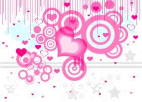 Vector Hearts by Squirrelette