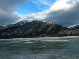 Frozen Lake by bluewave-stock