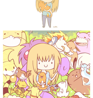 Why can't I hold all these Pokemon.. by BritishMuffin