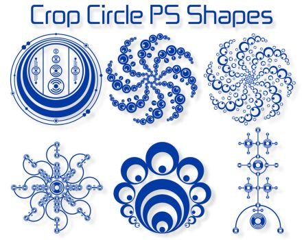 Crop Circle PS Shapes by Retoucher07030