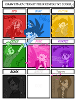 Color Meme - SPN by Himram