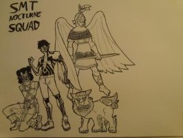 Current SMT Nocturne Squad by MusicMarvel214