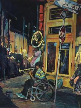 Frenchman Street Serenade by Sloppygee