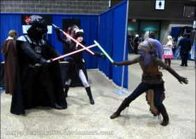 Battling Sith by SarahFriesen
