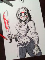 Miss Jason by jfsouzatoons