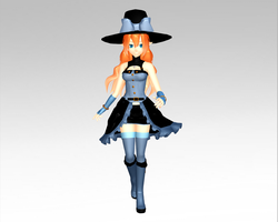 MMD Witch Aduro by Aduro13