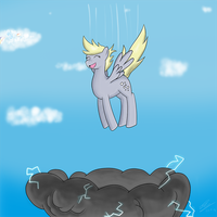 Fun with Clouds by RainbowGambler