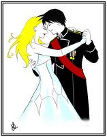 +FMA+ Shall We Dance - Royai by o0firefly0o