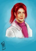 Claire Redfield fan art by ReneeMars