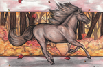 Fall Stallion by MorRokko
